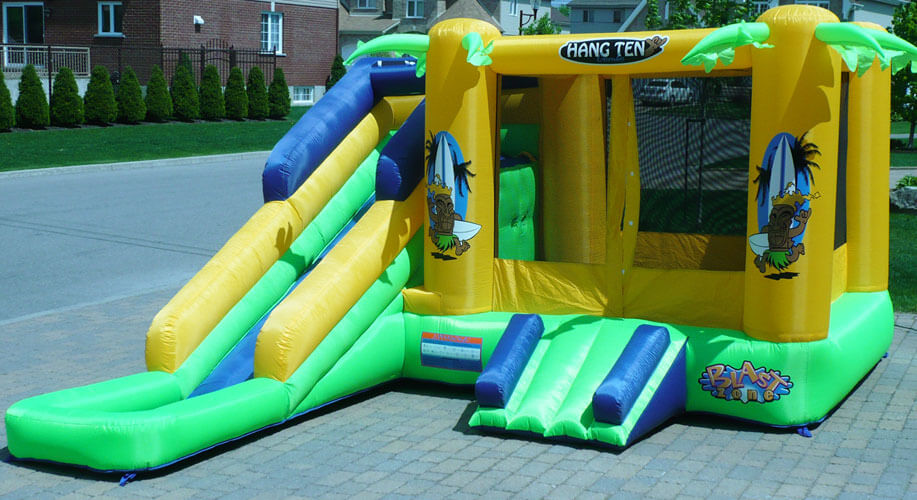 hawaii inflatable games